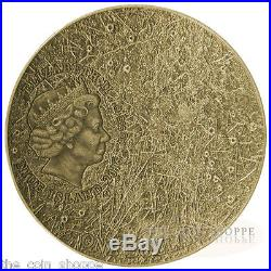 MERCURY SOLAR SYSTEM SERIES 2016 1 oz Silver Coin NWA 8409 Meteorite NIUE