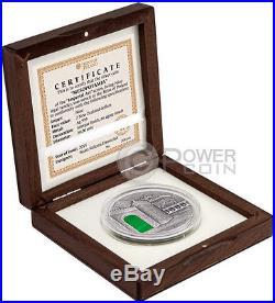 MESOPOTAMIA Imperial Art Agate Crystal 2 Oz Silver Coin 2$ Niue 2014