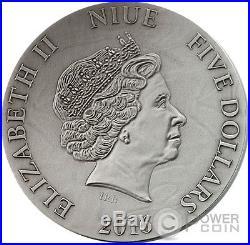 METATRON The Choir of Angels 2 Oz Silver Coin 5$ Niue 2016