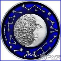 MOON Celestial Bodies 2 Oz Silver Coin 5$ Niue 2017