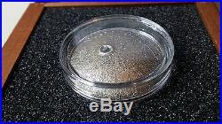 Mercury Solar System NWA 8409 Meteorite $1 dollar 1oz Silver Coin Niue 2016
