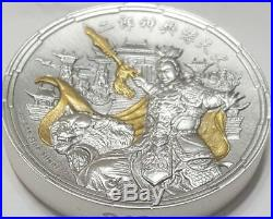 NIUE 2018 $5 ERLANG SHEN Chinese Mythology 2 Oz Silver Coin, ON HANDS
