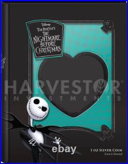 Nightmare Before Christmas Love Heart Shaped Coin Ngc Pf70 First Releases
