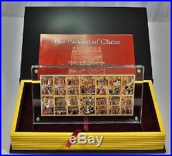 Niue 14x1$ PASSION OF CHRIST Duccio Maesta Siena 15oz Silver Coin Set