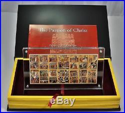Niue 2012 Passion of Christ Maesta of Duccio di Buoninsegna 15oz Silver Coin Set