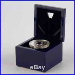 Niue 2014 $2 Year of the Horse 2 Oz Silver Proof Coin ROTATING IN BOX