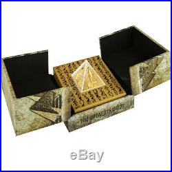 Niue 2014 Great Pyramids Masterpiece of Mint Art Proof Silver Gold Pleated Coin