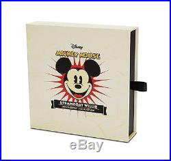 Niue 2015 $100 Disney Steamboat Willie Mickey Mouse 1 kg Kilo Silver Proof Coin