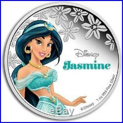 Niue 2015-2016 Silver $2 Proof Coins 11 Coin Silver Disney Princess Set