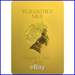 Niue 2015 $20 World Heritage Dorothea of Caesarea 4 Oz Silver Coin