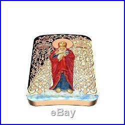 Niue 2015 $2 Icon Orthodox Shrines Mother of God of Valaam 1 Oz Silver Coin