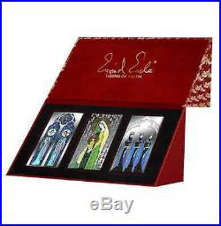 Niue 2015 3x 10$ Icons of Faith Eyvind Earle Magi Madonna 3x 50g Silver Coin Set