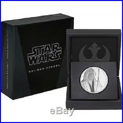 Niue -2016-2019- Silver $2 Proof Coin- 8x 1 OZ Star Wars Classic Series Coins