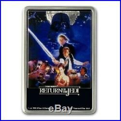 Niue -2017- 1 oz Silver Proof Coin- Star Wars Return of the Jedi