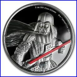 Niue- 2017 Silver $5 Proof Coin- 2 OZ Star Wars Darth Vader