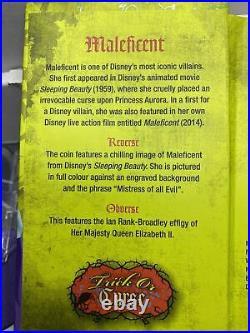 Niue -2018- 1 OZ Silver Proof Coin- Disney Villains Maleficent #7/10000