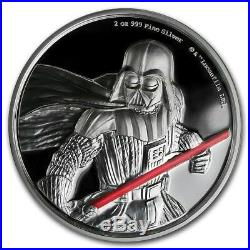 Niue- 2018 2 OZ Silver Proof Coins- 5 Star Wars Coins