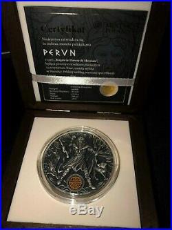 Niue 2018 PERUN Slavic Gods 2 Oz 2$ Silver Coin