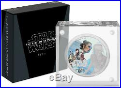 Niue 2019 1 OZ Silver Proof Coin Star Wars The Rise of Skywalker Rey