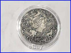 Niue 2019 Svetovid Slavic God`s 2oz silver coin second in series New presale