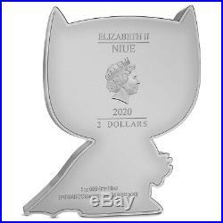Niue 2020 1 Oz Silver Proof Coin CHIBI COIN DC COMICS SERIES BATMAN