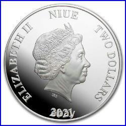 Niue 2021 1 OZ Silver Proof Coin- The Mandalorian Cara Dune