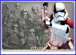 Niue 2021 1 OZ Silver Proof Star Wars Guards Executioner Trooper