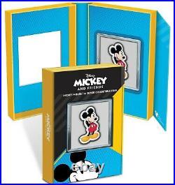 Niue 2021 1 Oz Silver Proof Chibi Disney Mickey Mouse