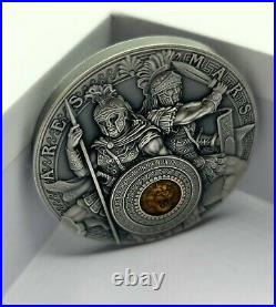 Niue 2021 Ares and Mars First in a Series! High Relief 2 oz Silver Coin