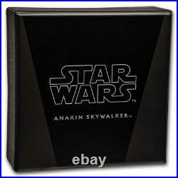 Niue 2021 Star Wars Classic Anakin Skywalker 1 Oz Silber PP