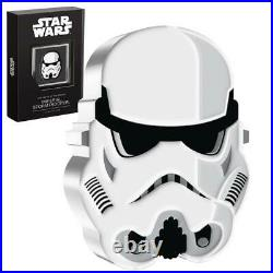 Niue 2021 Star Wars Faces of the Empire Stormtrooper 1 Oz Silber PP