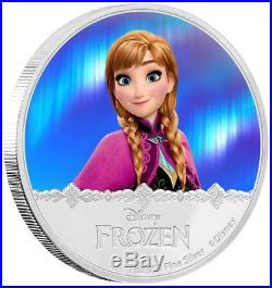Niue 2 Dollar 2016 Disney Anna Frozen (2.) 1 Oz Silber PP