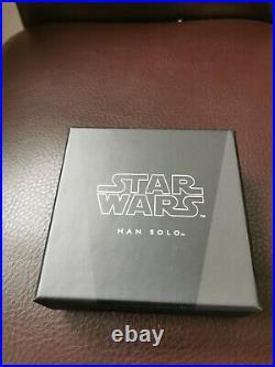 Niue 2 Dollar 2016 Star Wars Classics Han Solo (2.) 1 Oz Silber PP