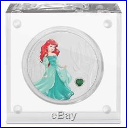 Niue 2 Dollar 2018 Disney Prinzessin (3.) Arielle 1 Oz Silber PP