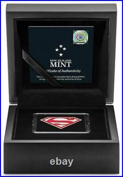 Niue 2 Dollar 2021 SUPERMAN Shield 1 Oz Silber PP