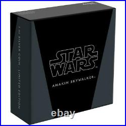 Niue 2 Dollar 2021 Star Wars Classics Anakin Skywalker (16.) 1 Oz Silber PP