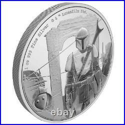 Niue 2 Dollar 2021 Star Wars The Mandalorian Classic (1.) 1 Oz Silber PP