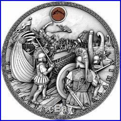 Niue $5 BATTLE of SALAMIS SEA BATTLES Silver Coin 2019 Ultra High Relief 2 oz