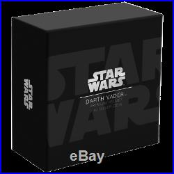 Niue 5 Dollar 2019 Star Wars Darth Vader Helm 2 Oz Silbermünze