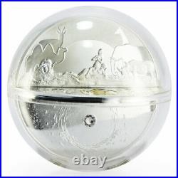 Niue 5 dollars Creation of the World proof silver coin 2019