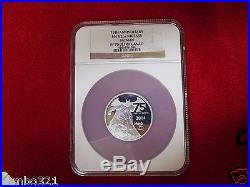 Niue Batman 75th Anniversary 2 Troy Oz NGC Graded PF70.999 Silver Coin Comics