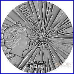 Niue Island 2016 SPEED OF LIGHT series CODE OF THE FUTURE $2 Silver coin 2 oz