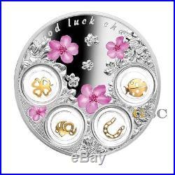 Niue Island 2017 5$ Good Luck Charms lucky talisman 77.75 g fine silver coin