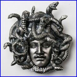 Niue Island 2019 15$ MEDUSA Amulet of Power 8oz Silver Coin