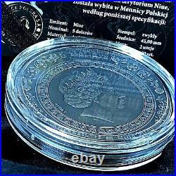 Niue Islands 2020 Aphrodite and Venus Goddesses 2oz Silver Coin