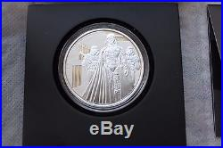 Niue Star Wars Disney $ 2 Darth Vader Proof Silver coin 2016 mint condition sale