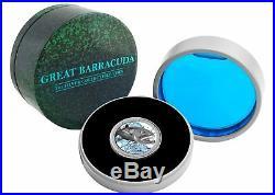 Ocean Predators Coins Mako Shark + Great Barracuda 1 oz coins