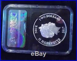 (Only 1500) Star Wars 2017 NIUE S$2 CHEWBACCA PF70 ULTRA CAMEO ONE OF FIRST 1500