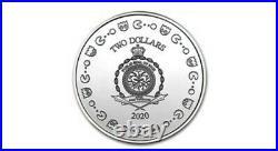 PAC-MAN 2020 1oz Silver Coin 40th Anniversary NGC MS70 ERPRESALE