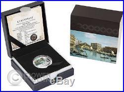 PONTE DI RIALTO SOS Venice Canaletto 1 Oz Silver Coin 2$ Niue 2016